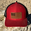 Thumbnail: Leather Patch Flag Trucker and Fitted Hats