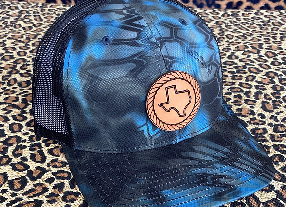 Texas Leather Patch Hats