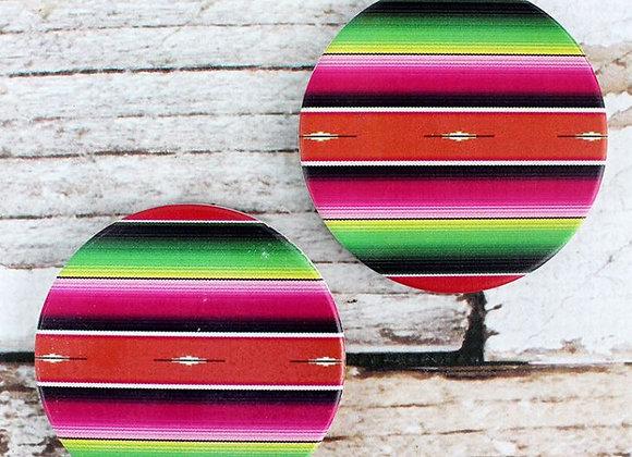Stoneware Car Coaster