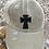 Thumbnail: Aztec Cross Cowhide Patch Ponytail Hat