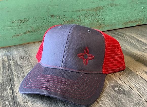 Zia Embroidered Trucker Hat
