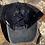 Thumbnail: Cowhide Zia Leather Patch Crisscross Ponytail Hat