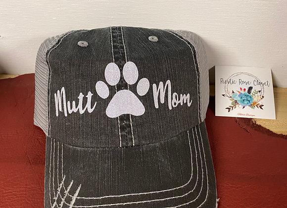 Mutt Mom Baseball Hat