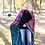 Thumbnail: Leopard Serape Soft Adult Blanket