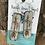 Thumbnail: Cowhide Boho Arrow Engraved Earrings