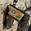 Thumbnail: American Darling Tooled Leather Crossbody Cactus Design with Fringe