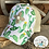 Thumbnail: Cactus Pattern Messybun Ponytail Crisscross Hat with Cowhide Zia Patch