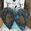 Thumbnail: Cowhide Indian Headdress Engraved Upsidedown Teardrop Earrings