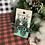 Thumbnail: Zia Engraved Chunky Glitter Wood Earrings