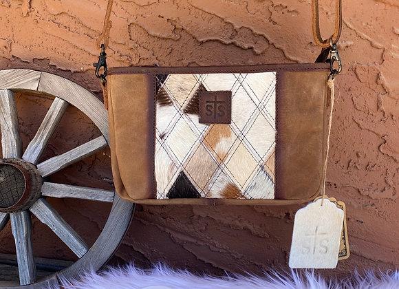 sTs Ranchwear Mae Iamond Crossbody Cowhide