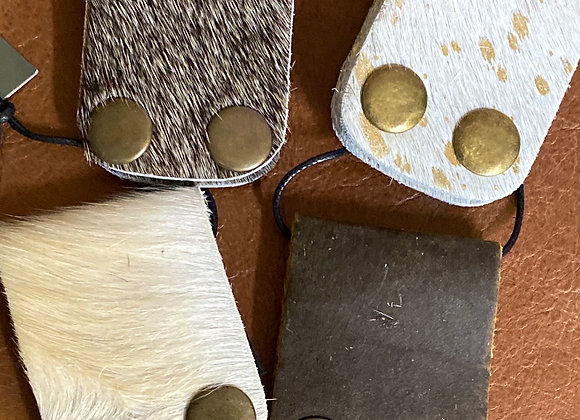 Cowhide Cable Organizers