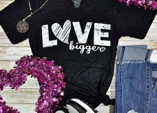 Love Bigger Graphic Tee