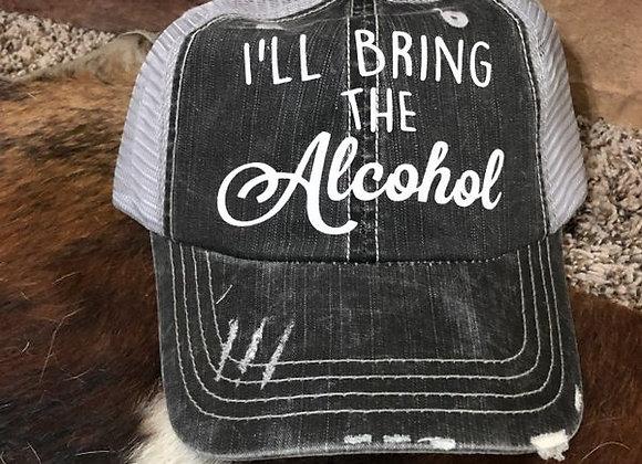 I'll Bring The Alcohol Vintage Hat