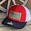Thumbnail: Flag Engraved Hide Patch on Richardson 112 Trucker Hat
