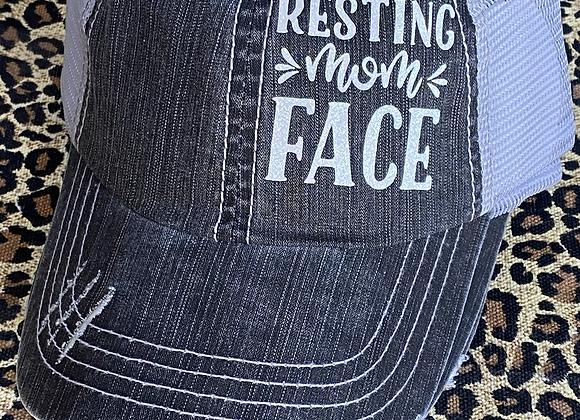 Resting Wine Face Vintage Hat