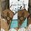 Thumbnail: Cowhide Zia Engraved Upside Down Diamond Shape Earrings