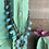 Thumbnail: Squash Blossom Natural Turquoise Necklace