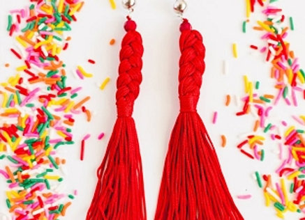 Braided Plot Twist Earrings
