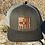 Thumbnail: Zia Flag NM Shape Leather Patch Hat