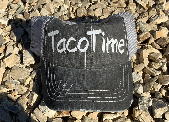 Taco Time Vintage Style Graphic Hat