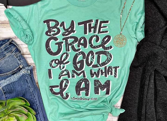 By The Grace of God I Am What I Am Graphic Tee