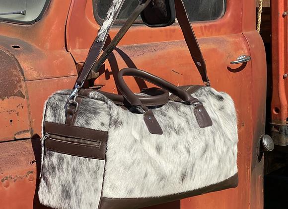 Cowhide Travel Bag