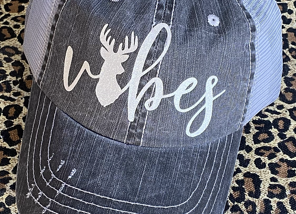 Vibes Vintage Trucker Hat