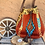 Thumbnail: American Darling Saddleblanket Bucket Bag w/Leopard Trim
