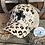 Thumbnail: Foil Leopard Print Crisscross Ponytail Hat with Zia Cowhide Patch
