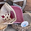 Thumbnail: Paisley Leather Zia Patch Ponytail Crisscross Hat