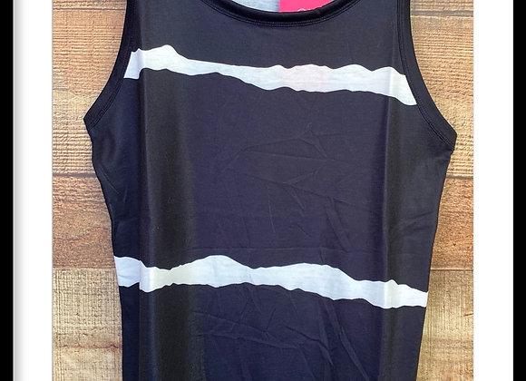 Striped Tie Dye Tank