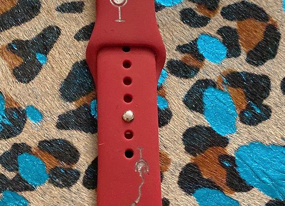 Wine Apple Watchband 38/40