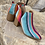 """Thumbnail: Serape Booties size 9 """"only pair"""""""