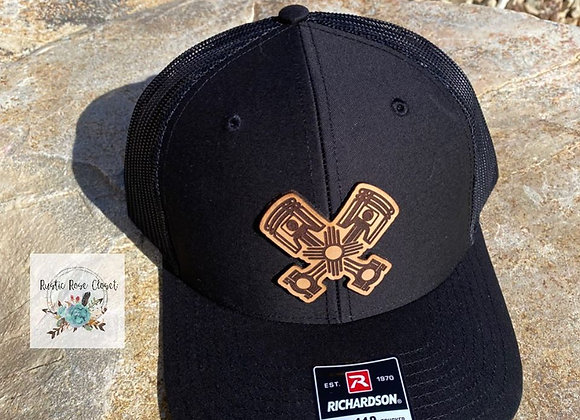 Pistons Zia Leather Patch Hat