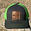 Thumbnail: NM Shape Leather Patch Flag Zia Trucker Hats
