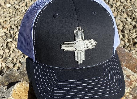 Cowhide Zia Leather Patch Richardson Hat
