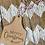 Thumbnail: Christmas Cow Tag Ornaments