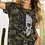 Thumbnail: Camo Printed Top with Leopard Skull