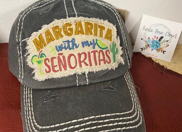 Mamacita Needs a Margarita Baseball Hat