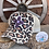 Thumbnail: Leopard Multi Color Print Crisscross Ponytail Hats Leather/Cowhide Patch