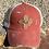 Thumbnail: Leather Patch Zia Faith on Crisscross Ponytail Hat
