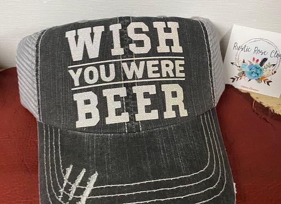 Wish You were Beer Baseball Hat