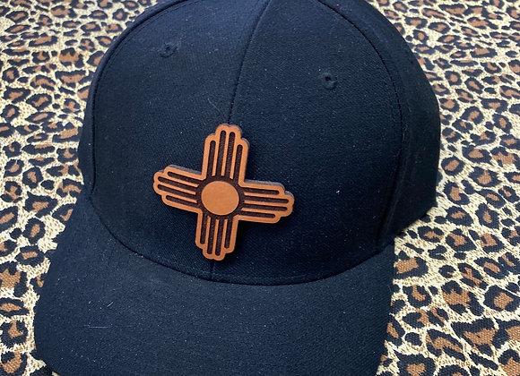 Zia Symbol Leather Patch Richardson Hats