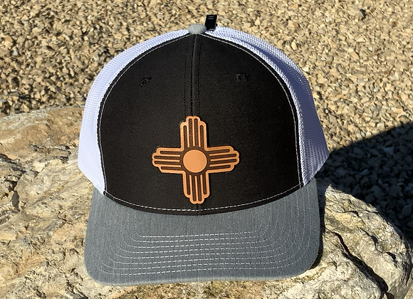 Zia Leather Patch Richardson Trucker Hats