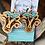 Thumbnail: Cow Heiffer Wood Engraved Earrings
