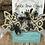 Thumbnail: Cowhide LOVE Arrows Earrings
