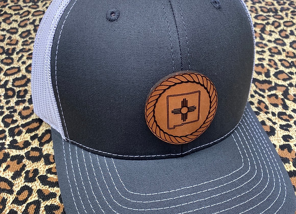 Rope NM Zia Round Lesther Patch Richardson Hat