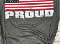 America Proud Unisex Graphic Tee