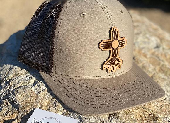 Zia Roots Cut Out Leather Patch Richardson Hats