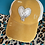 Thumbnail: Ponytail Criss Cross with Cowhide Heart Rope with Texas Patch